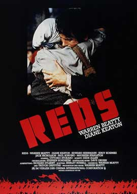 Reds - 11 x 17 Movie Poster - German Style A