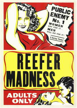 Reefer Madness - 11 x 17 Movie Poster - Style B