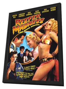 Reefer Madness: The Movie Musical - 11 x 17 Movie Poster - Style C - in Deluxe Wood Frame