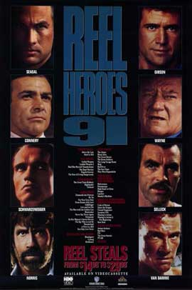 Reel Heroes - 11 x 17 Movie Poster - Style A