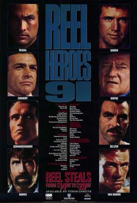 Reel Heroes - 27 x 40 Movie Poster - Style A