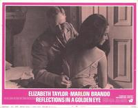 Reflections in a Golden Eye - 11 x 14 Movie Poster - Style H