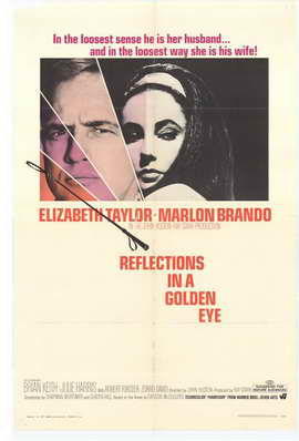 Reflections in a Golden Eye - 27 x 40 Movie Poster - Style A