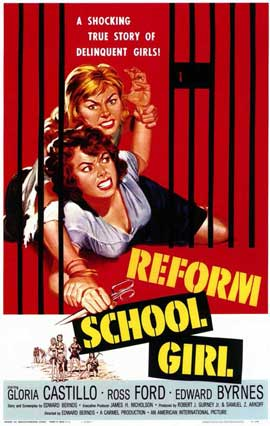 Reform School Girl - 11 x 17 Movie Poster - Style A