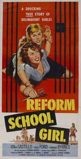 Reform School Girl - 20 x 40 Movie Poster - Style A
