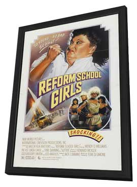 Reform School Girls - 11 x 17 Movie Poster - Style A - in Deluxe Wood Frame