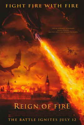 Reign of Fire - 11 x 17 Movie Poster - Style C