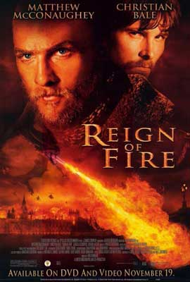 Reign of Fire - 27 x 40 Movie Poster - Style A