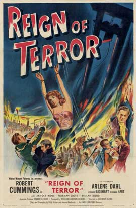 Reign of Terror - 11 x 17 Movie Poster - Style A