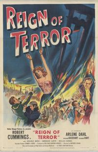 Reign of Terror - 43 x 62 Movie Poster - Bus Shelter Style A