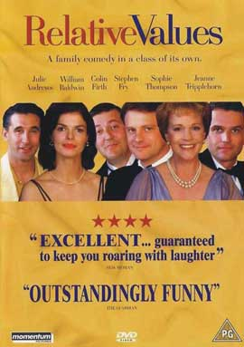 Relative Values - 11 x 17 Movie Poster - UK Style A