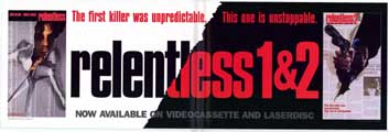 Relentless 1 & 2 - 11 x 17 Movie Poster - Style A