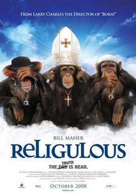 Religulous - 11 x 17 Movie Poster - Canadian Style D