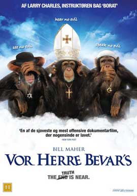 Religulous - 11 x 17 Movie Poster - Danish Style A