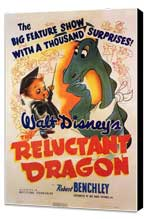 Reluctant Dragon - 11 x 17 Movie Poster - Style A - Museum Wrapped Canvas