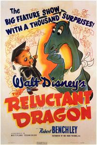 Reluctant Dragon - 43 x 62 Movie Poster - Bus Shelter Style A