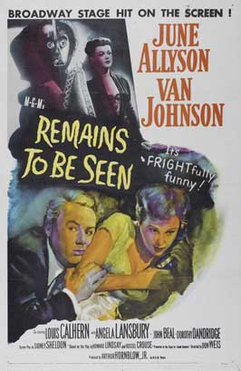 Remains to Be Seen - 11 x 17 Movie Poster - Style A