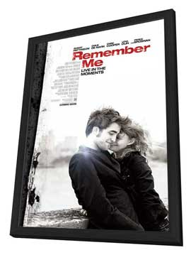 Remember Me - 11 x 17 Movie Poster - Style B - in Deluxe Wood Frame