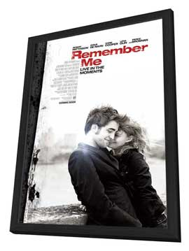 Remember Me - 27 x 40 Movie Poster - Style A - in Deluxe Wood Frame
