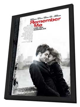 Remember Me - 27 x 40 Movie Poster - German Style A - in Deluxe Wood Frame