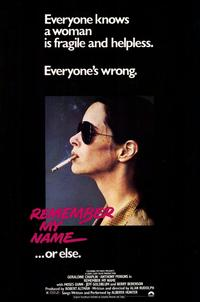 Remember My Name...Or Else - 11 x 17 Movie Poster - Style A