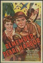 Remember Pearl Harbor - 27 x 40 Movie Poster - Style C