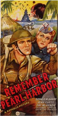 Remember Pearl Harbor - 43 x 62 Movie Poster - Bus Shelter Style A