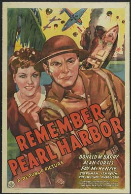 Remember Pearl Harbor - 11 x 17 Movie Poster - Style C