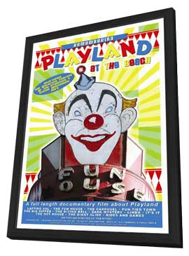 Remembering Playland at the Beach - 11 x 17 Movie Poster - Style A - in Deluxe Wood Frame