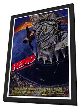 Remo Williams: The Adventure Begins - 27 x 40 Movie Poster - Style A - in Deluxe Wood Frame