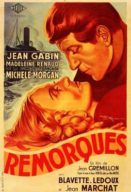 Remorques - 27 x 40 Movie Poster - French Style A