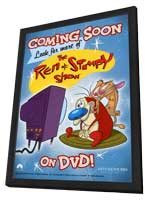 Ren and Stimpy Show - 27 x 40 TV Poster - Style A - in Deluxe Wood Frame