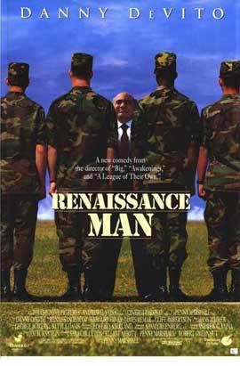 Renaissance Man - 11 x 17 Movie Poster - Style B