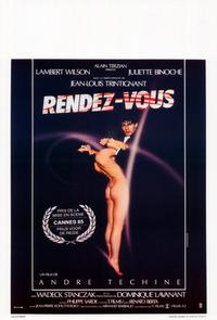 Rendez-vous - 11 x 17 Movie Poster - Belgian Style A