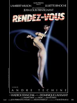 Rendez-vous - 11 x 17 Movie Poster - French Style B