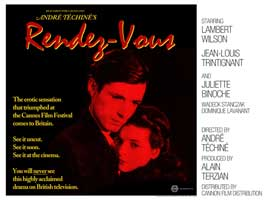 Rendez-vous - 27 x 40 Movie Poster - UK Style B