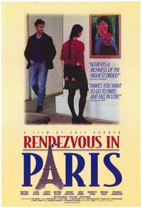 Rendezvous in Paris - 27 x 40 Movie Poster - Style A