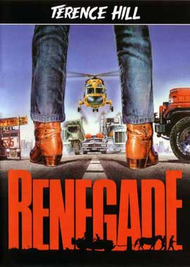 Renegade - 11 x 17 Movie Poster - German Style A