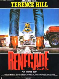 Renegade - 11 x 17 Movie Poster - German Style B