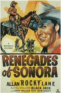 Renegades of Sonora - 43 x 62 Movie Poster - Bus Shelter Style A