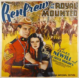 Renfrew of the Royal Mounted - 27 x 40 Movie Poster - Style A