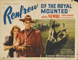 Renfrew of the Royal Mounted - 11 x 14 Movie Poster - Style A