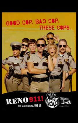 Reno 911! - 11 x 17 TV Poster - Style A