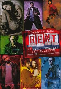 Rent - 43 x 62 Movie Poster - Bus Shelter Style A