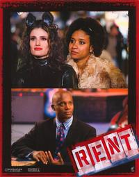 Rent - 11 x 14 Poster French Style A