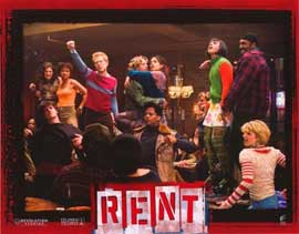 Rent - 11 x 14 Poster French Style F