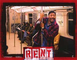 Rent - 11 x 14 Poster French Style H