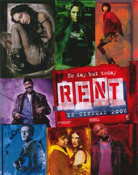 Rent - 11 x 14 Movie Poster - Style A