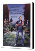 Repo Man - 27 x 40 Movie Poster - Style A - Museum Wrapped Canvas