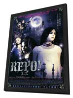 Repo! The Genetic Opera - 11 x 17 Movie Poster - Japanese Style A - in Deluxe Wood Frame